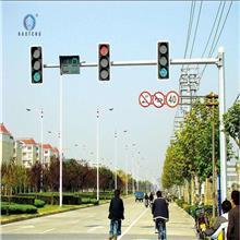 厂家定制交通路口L型T型信号灯杆 道路警示LED指示灯杆 安全红绿灯人行杆