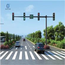交通信号灯八角监控红绿灯杆 道路指示牌 道路金沙LED指示灯