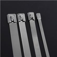 依森 钢珠自锁式不锈钢扎带 电线杆标牌扎带  生产厂家