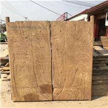 老榆木门板 榆木桌面板 防腐做旧老木板 榆木餐桌板批发