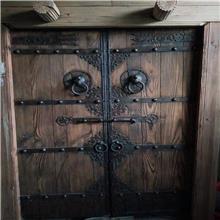 老榆木门板 榆木桌面板 防腐做旧老木板 榆木餐桌板常年供应