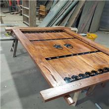 尚轩出售老榆木门板 榆木桌面板 防腐做旧老木板 榆木餐桌板