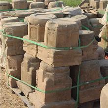 农村老石墩石凳子圆墩子花盘底座石桌底柱石墩门墩子常年供应
