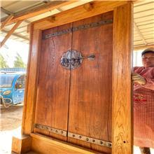 老榆木门板 榆木桌面板 防腐做旧老木板 榆木餐桌板供应