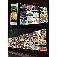 招牌门头菜谱安装供应 临沂定制点餐灯箱 乐易 价格优惠