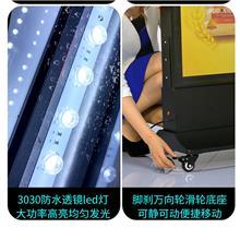 LED无框拉布灯箱 无边框可移动卡布灯箱 乐易 工厂供应