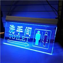 个性定制全亚克力灯箱双面uv发光室内外LED灯箱广告牌背景墙