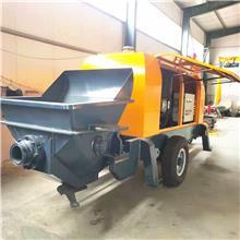 车载式搅拌输送泵 水泥混凝土喷射泵 二次结构构造泵
