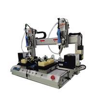 博贝自动化桌面式双平台双电批自动锁螺丝机