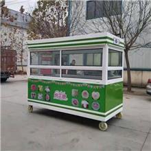 无动力手推餐车 移动小吃车 糖葫芦餐车 地摊餐车 手推车