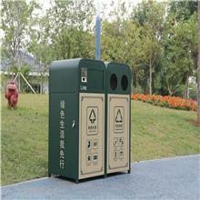 嘉兴户外垃圾桶_街道果皮箱、立体分类垃圾桶_尺寸可订做