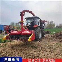 山东供应玉米秸秆青储机 高粱甘蔗收割机 拖拉机加装青储机