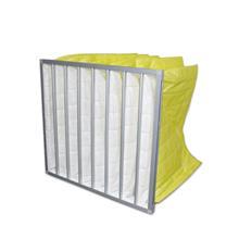 铭洋厂家供应净化空调中效过滤器 无尘车间袋式中效过滤器 F6/F7/ F8中效过滤袋