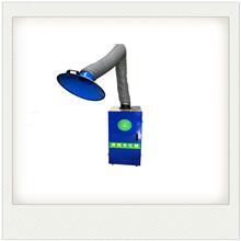 移动式焊烟机净化器 车间焊锡烟雾净化器 双臂焊烟净化器 焊烟净化设备