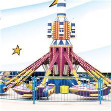 厂家游乐设备 大型儿童户外设施 广场液压汽车升降自控飞机