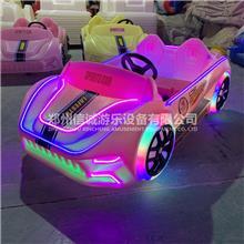 儿童玩具碰碰车 信诚  商场游乐 儿童摆摊碰碰车 发光警车碰碰车
