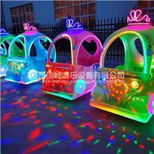 儿童游乐电池车 步行街 儿童发光车厂家 信诚  皇冠发光车定制