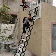 锌钢材质室内伸缩楼梯_宏泰_室内电动楼梯_现货出售