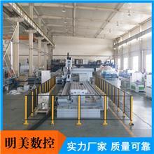 铝型材龙门四轴数控加工中心7米 龙门式加工中心 明美数控生产商