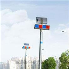 LED双面红蓝爆闪灯 道路安全施工告示灯 鲁宁 长期价格