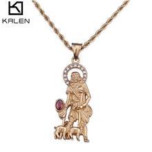 不锈钢饰品批发 ebay速卖通敦煌供货 宗教饰品 钛钢男士项链