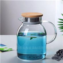 凉水壶 透明玻璃凉水壶 泡水凉水壶 家用水杯凉水壶 大容量凉水壶
