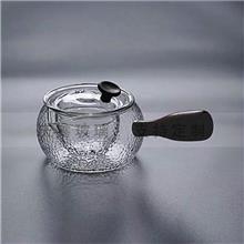 木把煮茶壶黑茶煮茶器电陶炉烧水壶耐热玻璃过滤泡茶日式分茶器