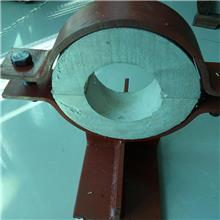 住友管道定制蛭石隔热滑动导向管托红松木g保冷固定导向管托