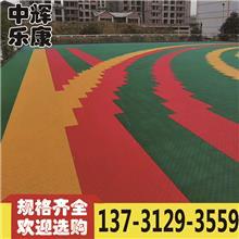 悬浮拼装地板 篮球场悬浮地板 复合地板源头厂家定制生产