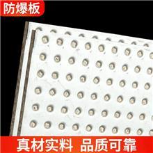 防爆板9.5mm纤维水泥抗爆墙板耐火4小时泄压板镀锌钢板