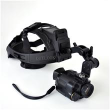数码头盔夜视仪 YJS229 夜视望远镜 非热成像仪