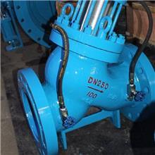 水利控制阀 优旭机械设备 铸铁水泵控制阀 多功能水泵控制阀 按时发货