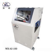 立式圆管抛光机 铁管外圆除锈机 自动抛光机WX-A2-100型号机械工业