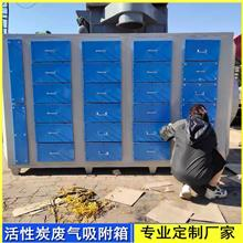 活性炭吸附箱 空气净化吸附箱 废气吸附装置 泊头环保厂家