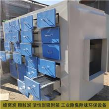 供应车漆喷涂车间废气处理设备 活性炭吸附箱 2万风量活性炭箱