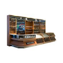 苏州柯顺商超设备厂家木质服务台烟酒柜零售柜组合欢迎定制