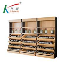 苏州柯顺商超设备厂家烟酒柜系列红酒柜钢木酒柜欢迎定制