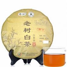 中茶批发价格 中粮中茶 蝴蝶白茶 5901老树白茶白茶饼 357克/饼 2014年