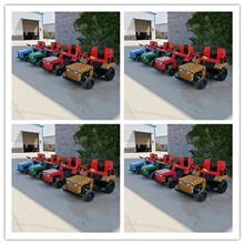 沃奇新款广场儿童拖拉机玩具车_对战坦克碰碰车_夜市摆摊发光电瓶小汽车