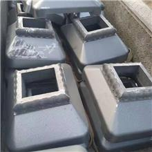 铸铁公路墩 护栏底座 厂家 重型方底圆底马路墩 销售