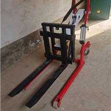 便携式随车电动叉车 微型搬运叉车 手推式电动堆高车厂家