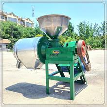 整机加厚玉米磨面机 三相电三七黄芪磨粉机 干湿磨面机