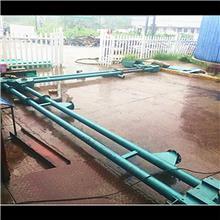 硫磺粉管链输送机 碳素颗粒管链式输送机 镁强粉管链输送机 兴运