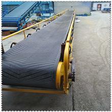 污泥带式传送机 传送皮带挡板价格 装卸货运输设备