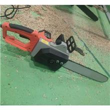 电瓶车电链锯 手持式迷你电链锯园林伐木单手锯