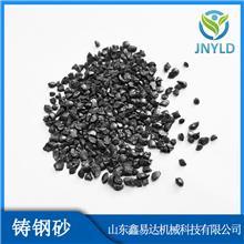 供应抛光磨料钢砂喷砂 除锈用1.5钢砂厂家批发钢砂价格