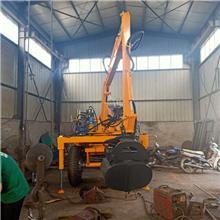 全新液压轮式抓装机 改装农用抓木机 小型抓甘蔗机价格