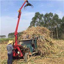 履带式抓木机 液压全新抓甘蔗机 河道清理抓水草机厂家