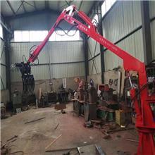 广西南宁抓木机厂家直销 轮式胶轮抓树机 360旋转抓甘蔗机改装