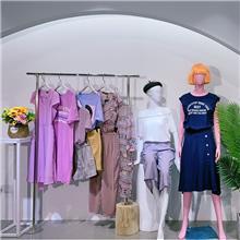 香港品牌华丹妮Vadaini好的服装折扣品牌女装品牌尾货断码清仓库存女装新款夏装拿货渠